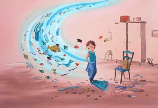 'Ida maakt een staart' uit 'De schoenen van de zeemeermin'