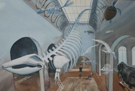 'Het Museum' uit 'D schoenen van de zeemeermin'